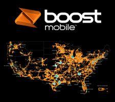 Cell Phone Service Coverage Map Boost Mobile Prepaid Coverage - Boost mobile coverage