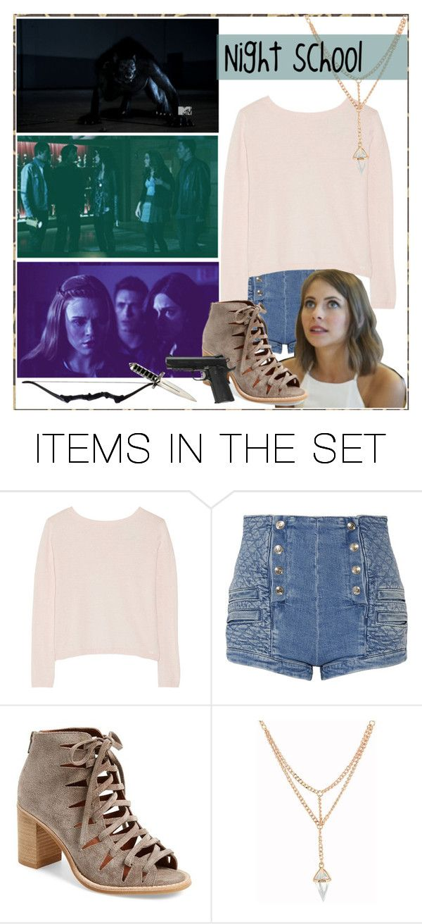 """"""">> • Night School • <<"""" by gabbyfangirl ❤ liked on Polyvore featuring art"""