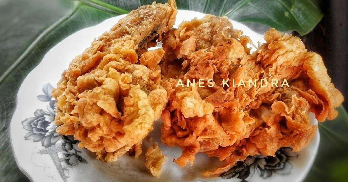 Resep Ayam Goreng Tepung Renyah Oleh Mama Anes Dapur Mama Anes Resep Resep Ayam Ayam Goreng Makanan