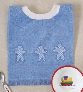 Towel Bib Sewing Project | Handmade Baby Bib | Baby Crafts — Country Woman Magazine