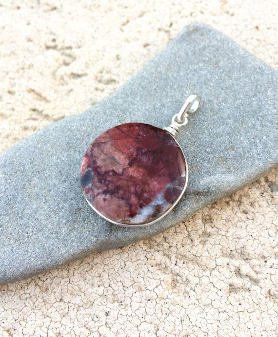 Red jasper silver pendant round red jasper pendant sterling silver red jasper silver pendant round red jasper pendant sterling silver pendant tiny red aloadofball Image collections