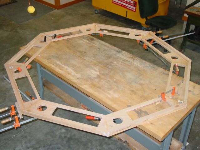 how to build a snookball table