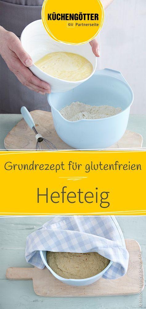 Hefeteig Rezept (glutenfrei) #cinnamonsugarcookies