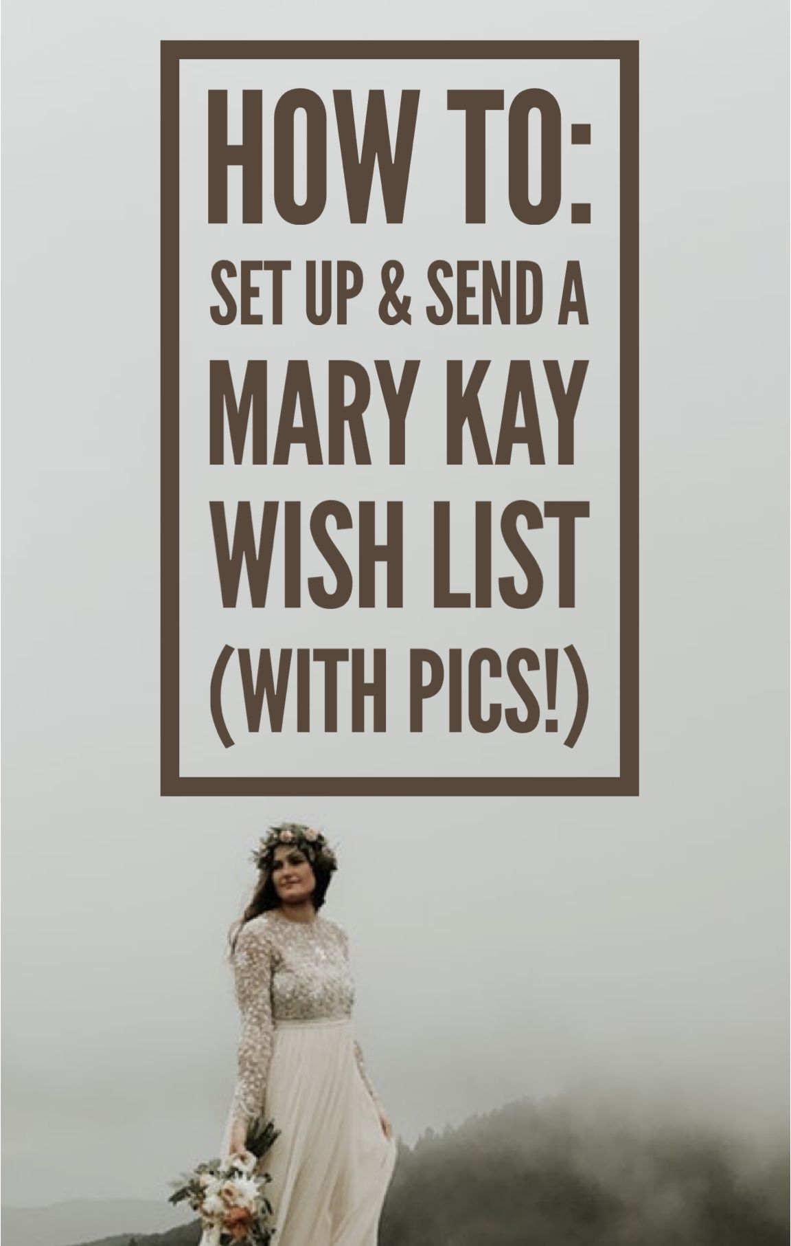 How to set up your mary kay wish list w pictures
