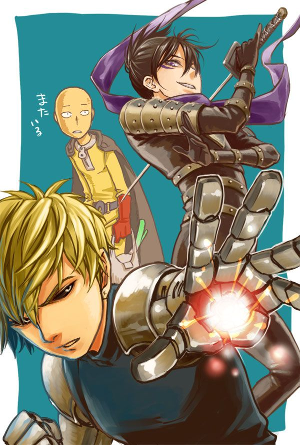 Нет большего размера доступны Anime, Saitama, Desenhos
