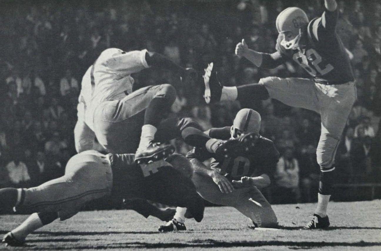 1961 Oregon football. From the 1962 Oregana (University of