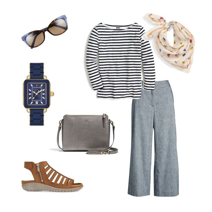 12-Piece Summer Travel Wardrobe Capsule #travelwardrobesummer