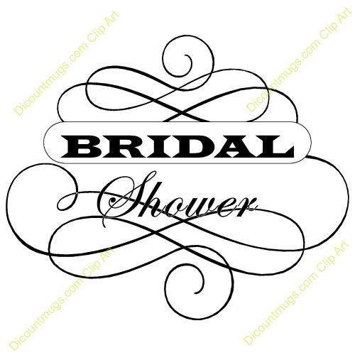 Bridal Shower Clipart 500x500