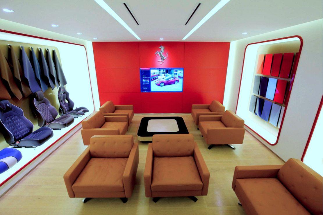 Cornes Aoyama Ferrari Showroom Tokyo Jp Fortebis Group