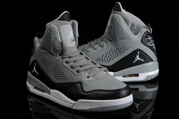 air jordan flight black and grey