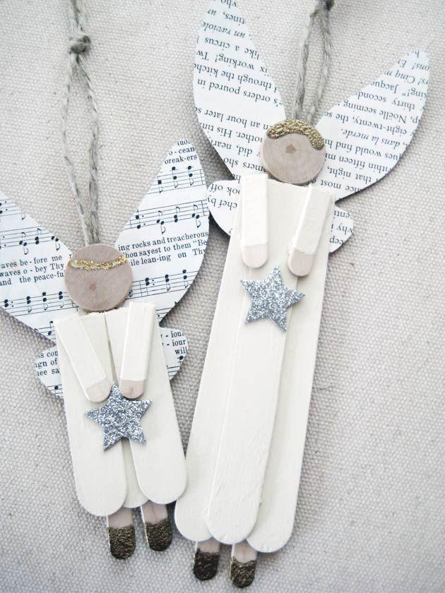 Manualidades paz buscar con google navidad pinterest - Angeles de navidad manualidades ...