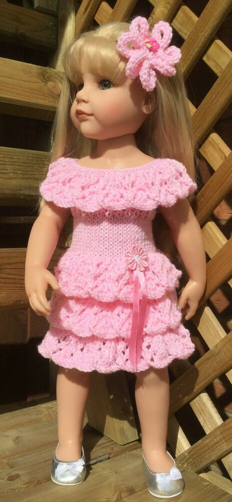 HAND KNIT CLOTHES TO FIT GOTZ HANNAH DOLL | Doll clothes ...