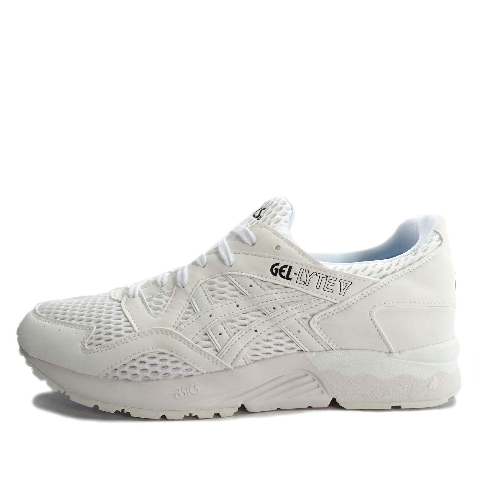 22185b3c6358 Asics Tiger GEL-Lyte V  H7K2N-0101  Men Casual Shoes White White US 9.0