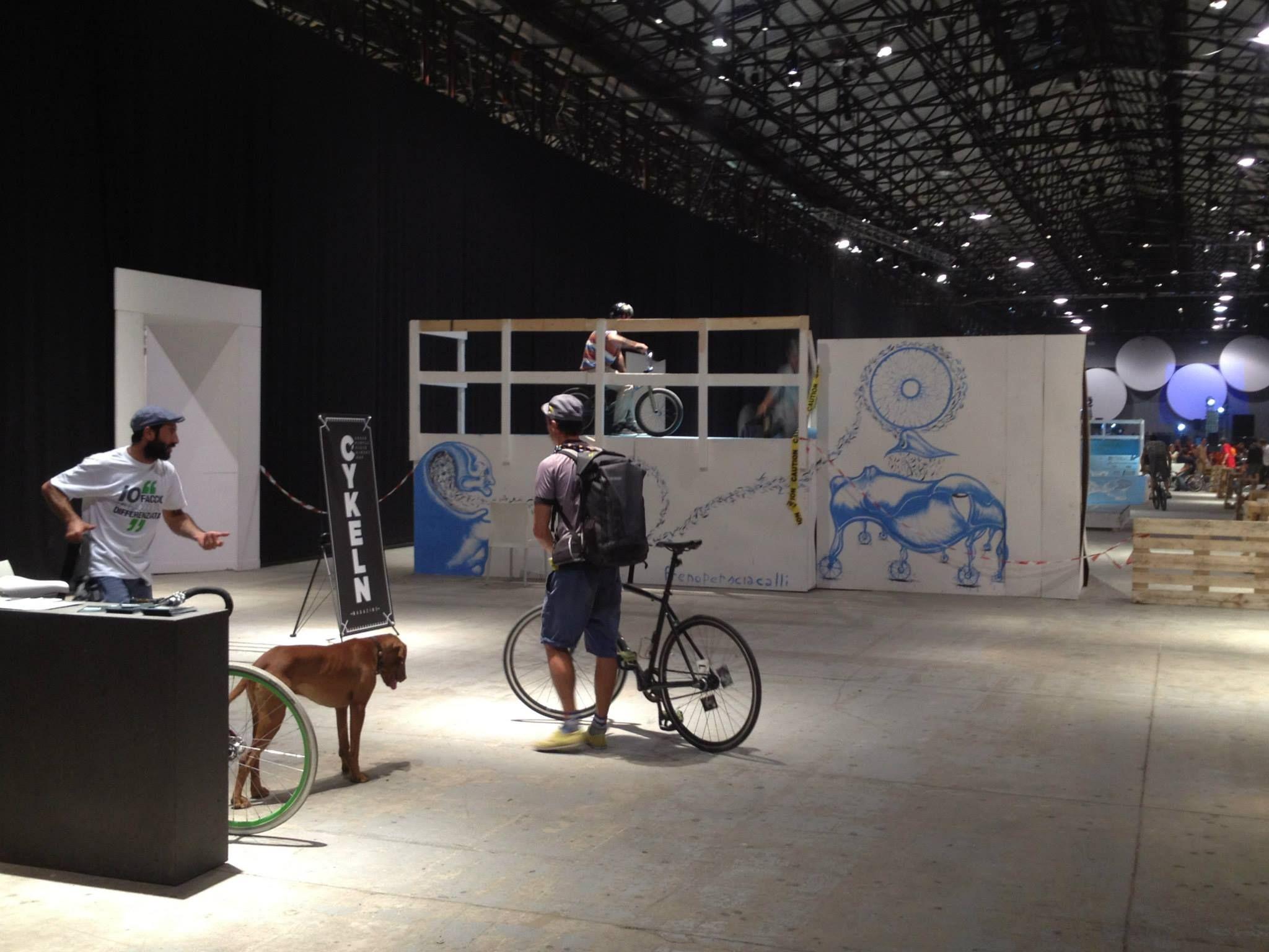 CoReVe sponsor del Bicycle Film Festival, Firenze, Settembre 2013, Stazione Leopolda.