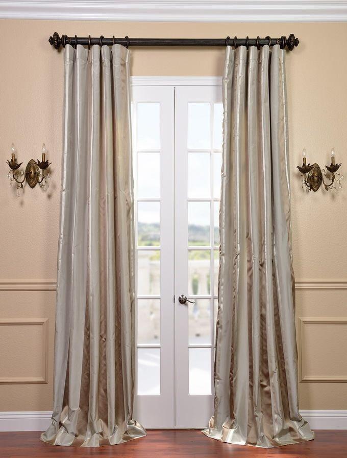 Dallas Silk Taffeta Satin Stripe Curtain Sku Ds Tfsn25 At Https