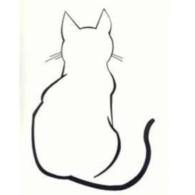 Sitting Cat Sketch \u2026