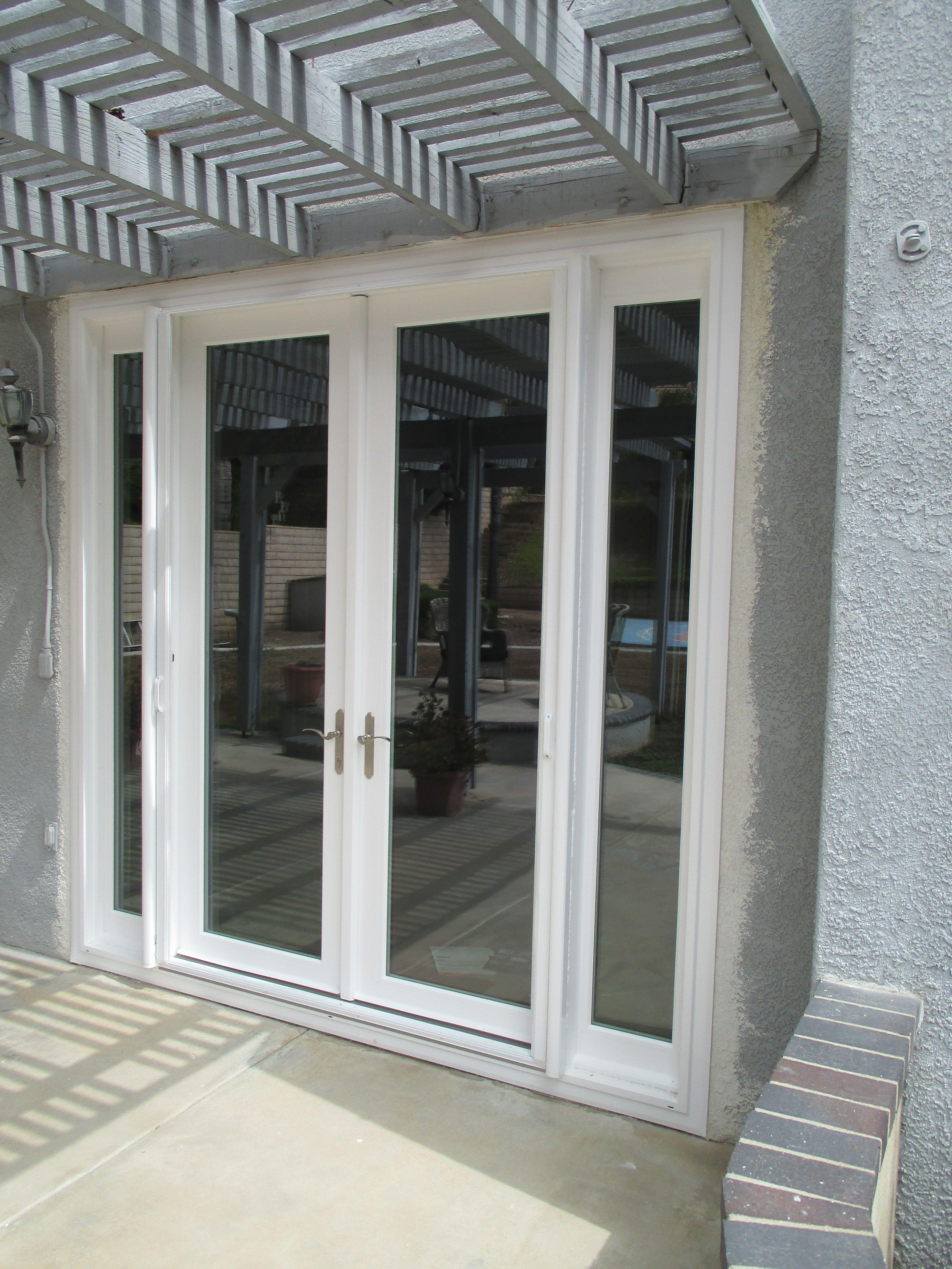 French Door Retractable Screens installed on Front Double Door in ...