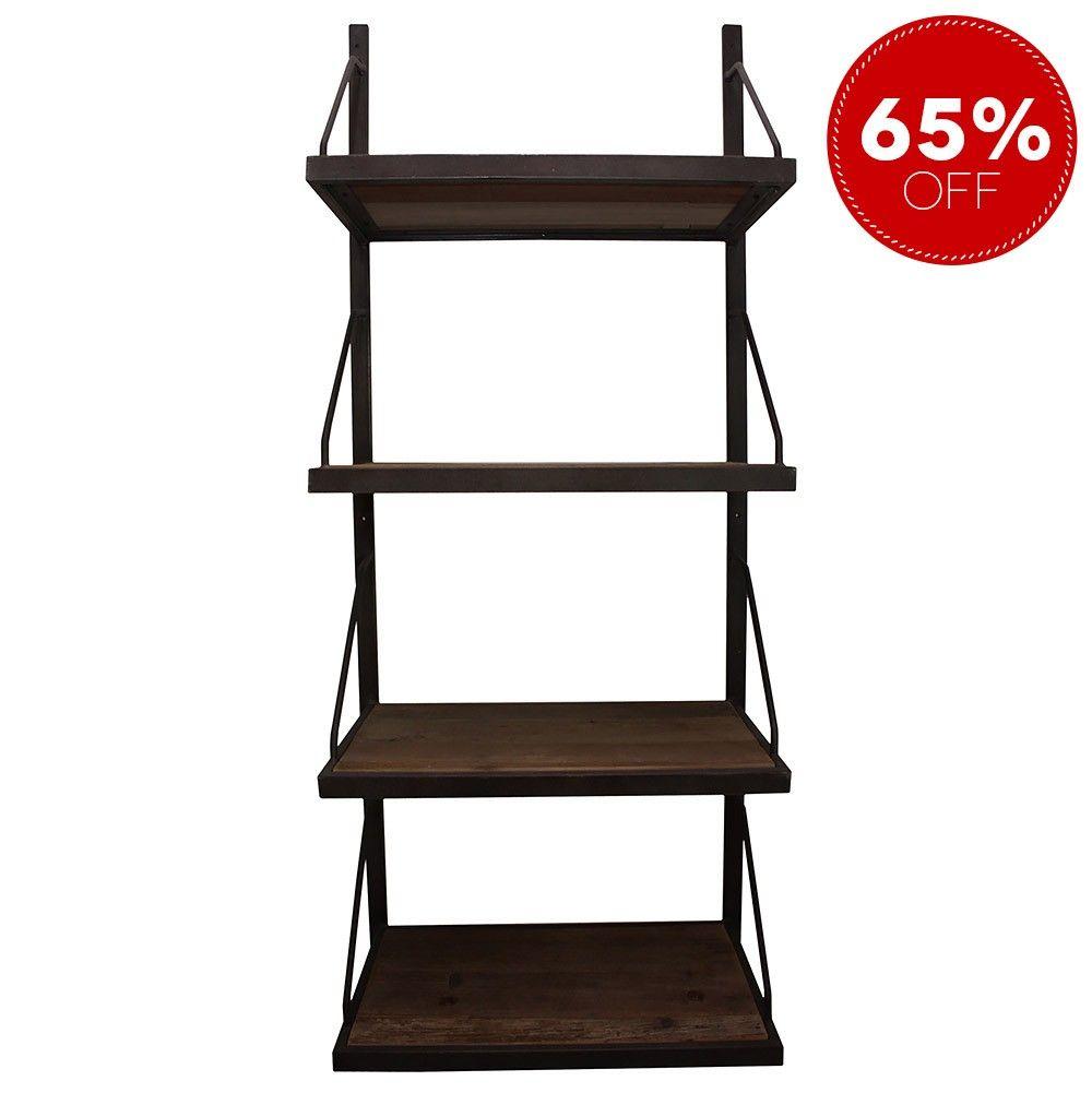 4 Level Hanging Bookshelf Spring Furniture Clearance Warehouse