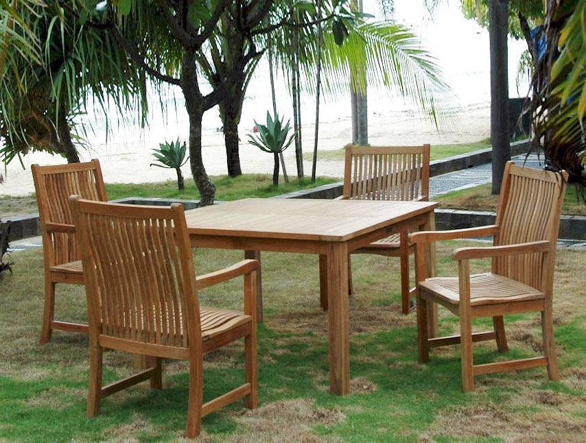 Beautiful Teak Outdoor Furniture Care: Some Tips To Consider