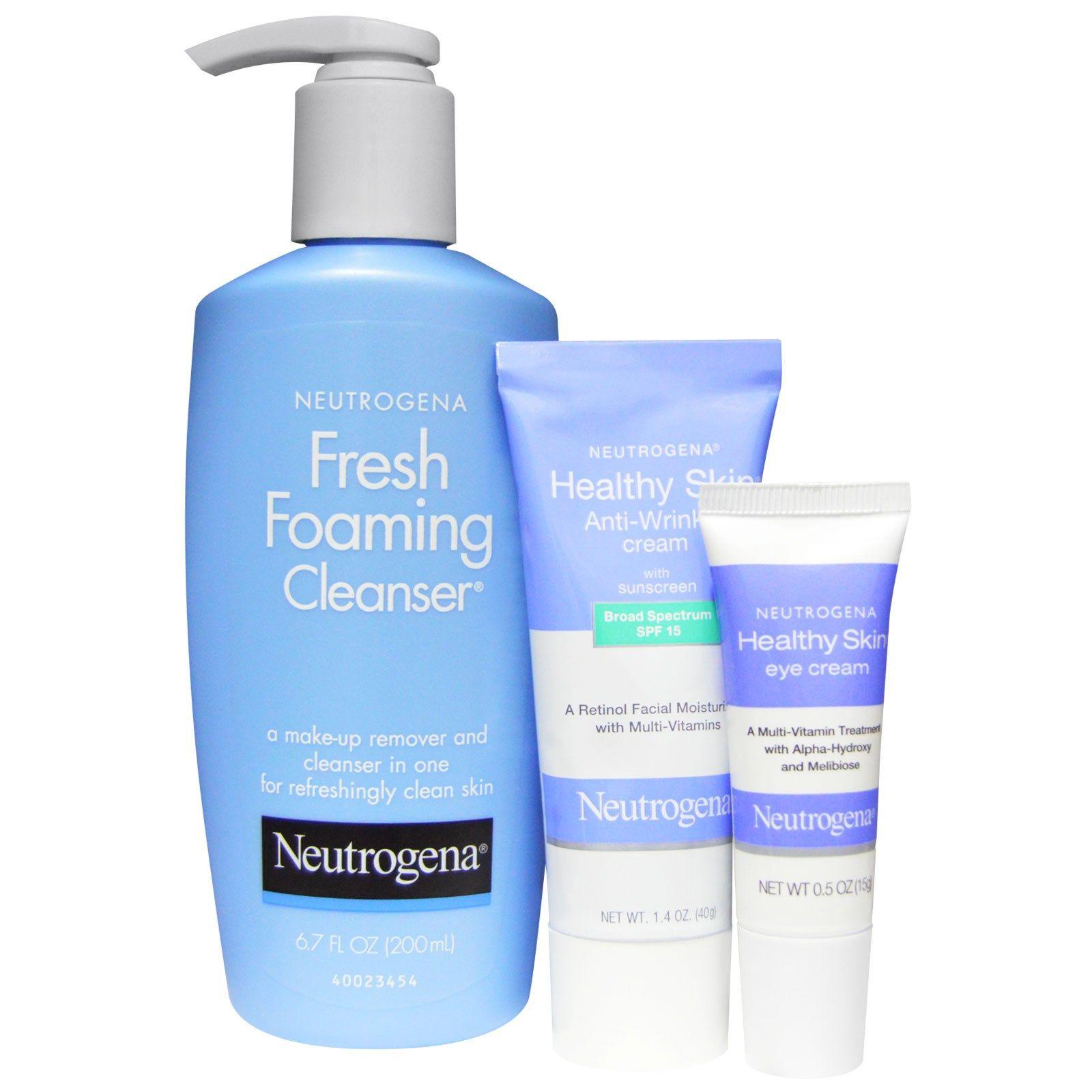 Neutrogena Healthy Skin Anti Wrinkle System 3 Piece Set Discontinued Item