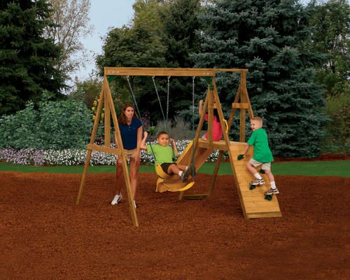 Sonoma Precut Ps7469 At Menards Outside Toys Wood Swing