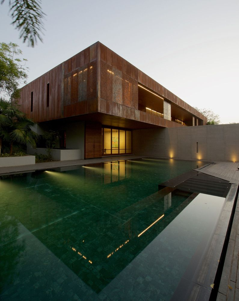 remarkable modern house design in india the architects diary contemporary also rh pinterest