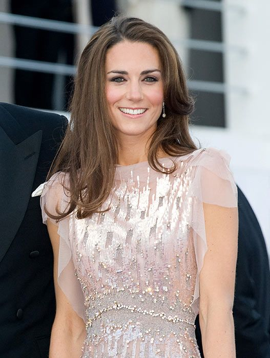 Wedding Hairstyle Kate Middleton : Kates first state banquet: which tiara will she wear? banquet