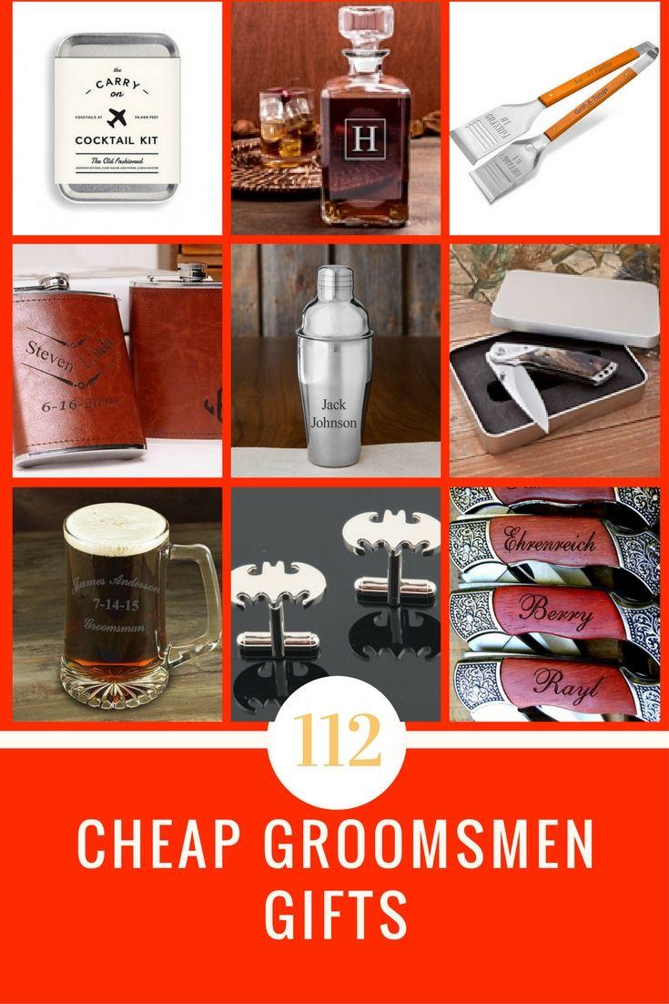 Cheap groomsmen gift ideas under 20 wedding favors