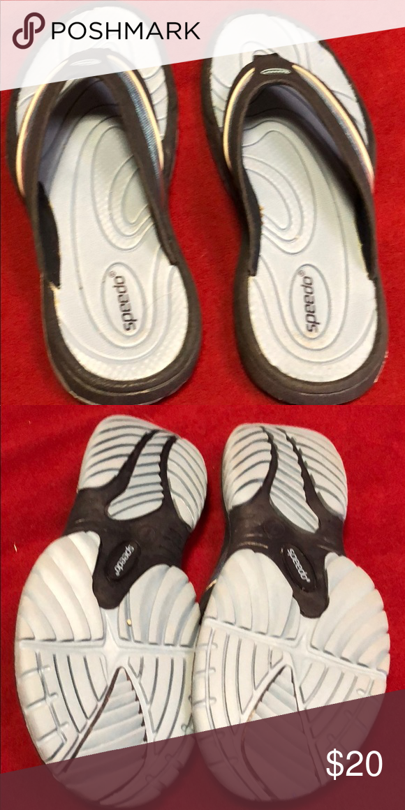7a5ba5e874c0ab Speedo flip flops New without tags blue speedo flip flops size 7 Speedo  Shoes Sandals