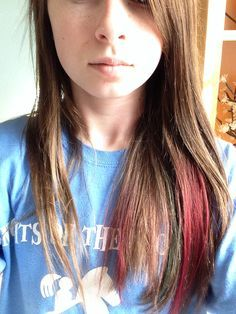 How To Dye Your Hair With Food Coloring Mix A Few Drops Of Food Coloring In A Plastic Cup Take An Old Toothbrush Or Best Hair Dye Organic Hair Dye