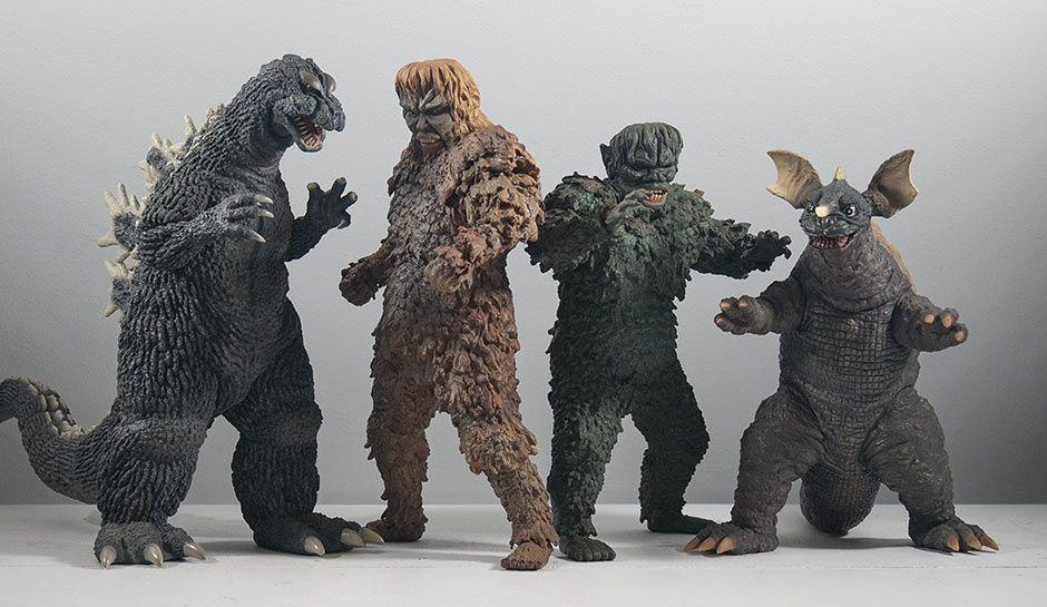 X Plus Sanda And Gaira Size Comparison With 30cm Godzilla