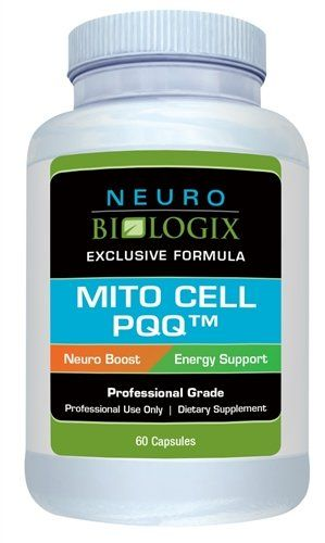 Neurobiologix - Mito Cell PQQ (60 Capsules) *** For more information, visit image link.  This link participates in Amazon Service LLC Associates Program, a program designed to let participant earn advertising fees by advertising and linking to Amazon.com.