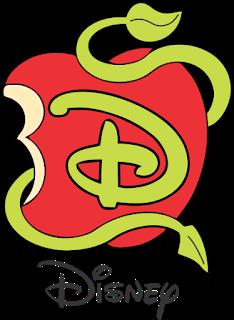 Logo Descendentes Disney Descendants Descendentes Descendentes Desenho Decoracao Descendentes