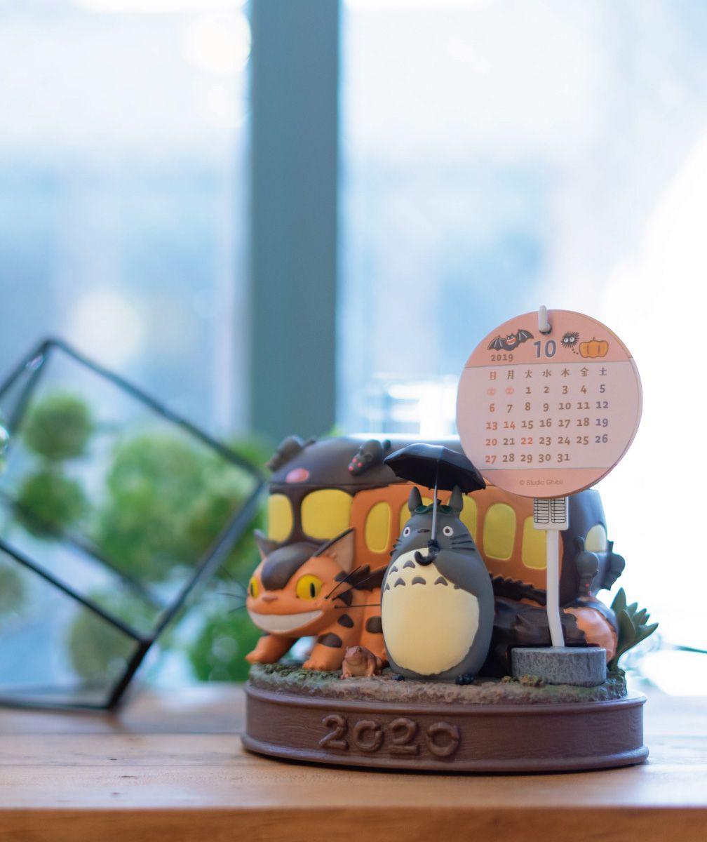 となりのトトロ 2020年大きなカレンダー ネコバス到着 My Neighbor Totoro Calendar ネコバス トトロ となりのトトロ