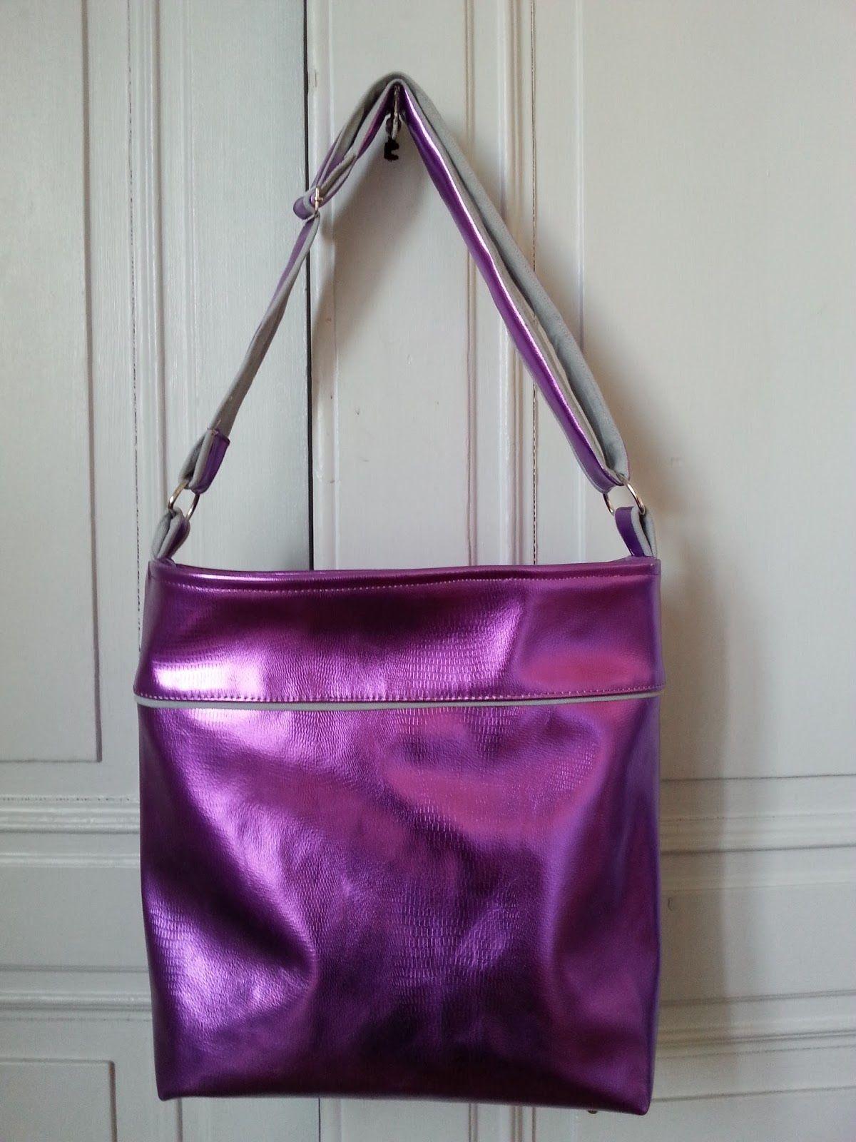 Madame la Fluche: Sac Flo Purple rain