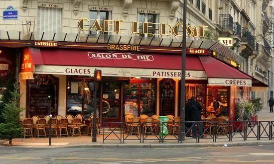 cafes in france | Cafe Le Dome Restaurant Reviews, Paris, France