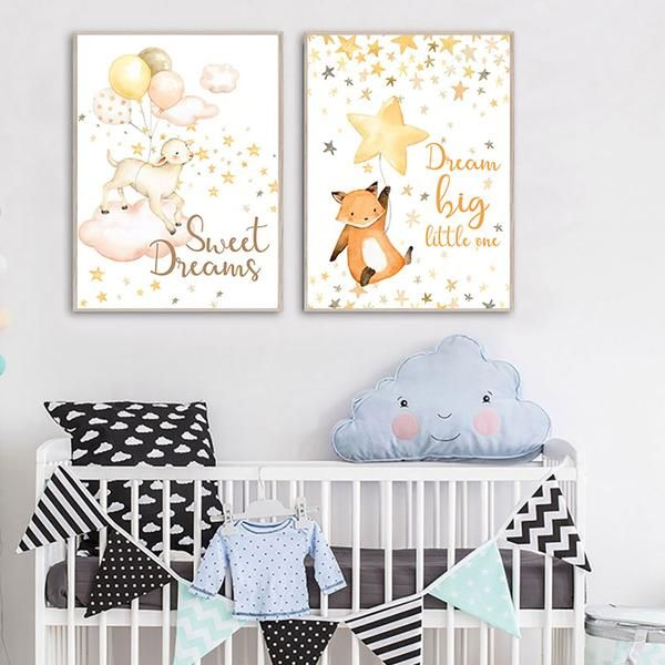 Watercolor Stars and Quotes Canvas Posters.  Order Today and Get Free Worldwide Shipping. #poster #print #art #wallart #artprint