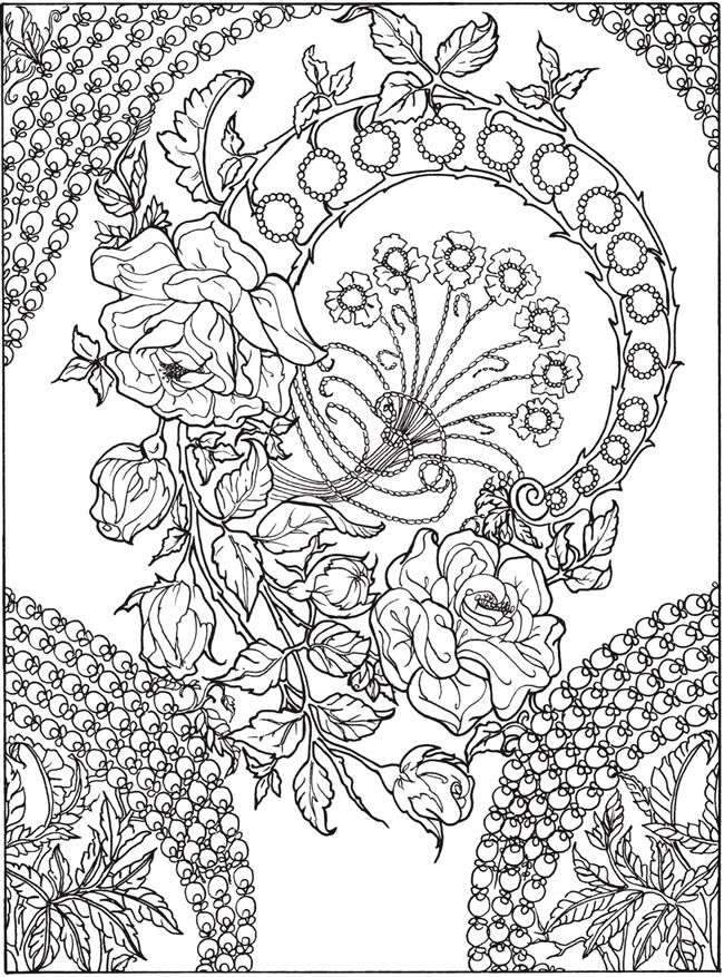 Welcome to Dover Publications Keep Calm and Color -- Birds of - fresh detailed peacock coloring pages
