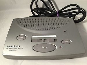 Radio Shack Replacement Intercom for Model 43 3105A FM Wireless 3 Channel System | eBay
