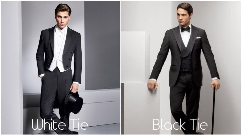 What To Wear To A White Tie Event The Trend Spotter White Tie White Tie Event White Tie Dress Code
