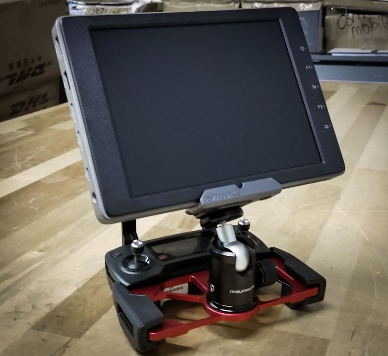 CrystalSky REMOTE CONTROL ADPATOR Bracket for DJI Mavic Air Mavic 2 Pro//ZOOM
