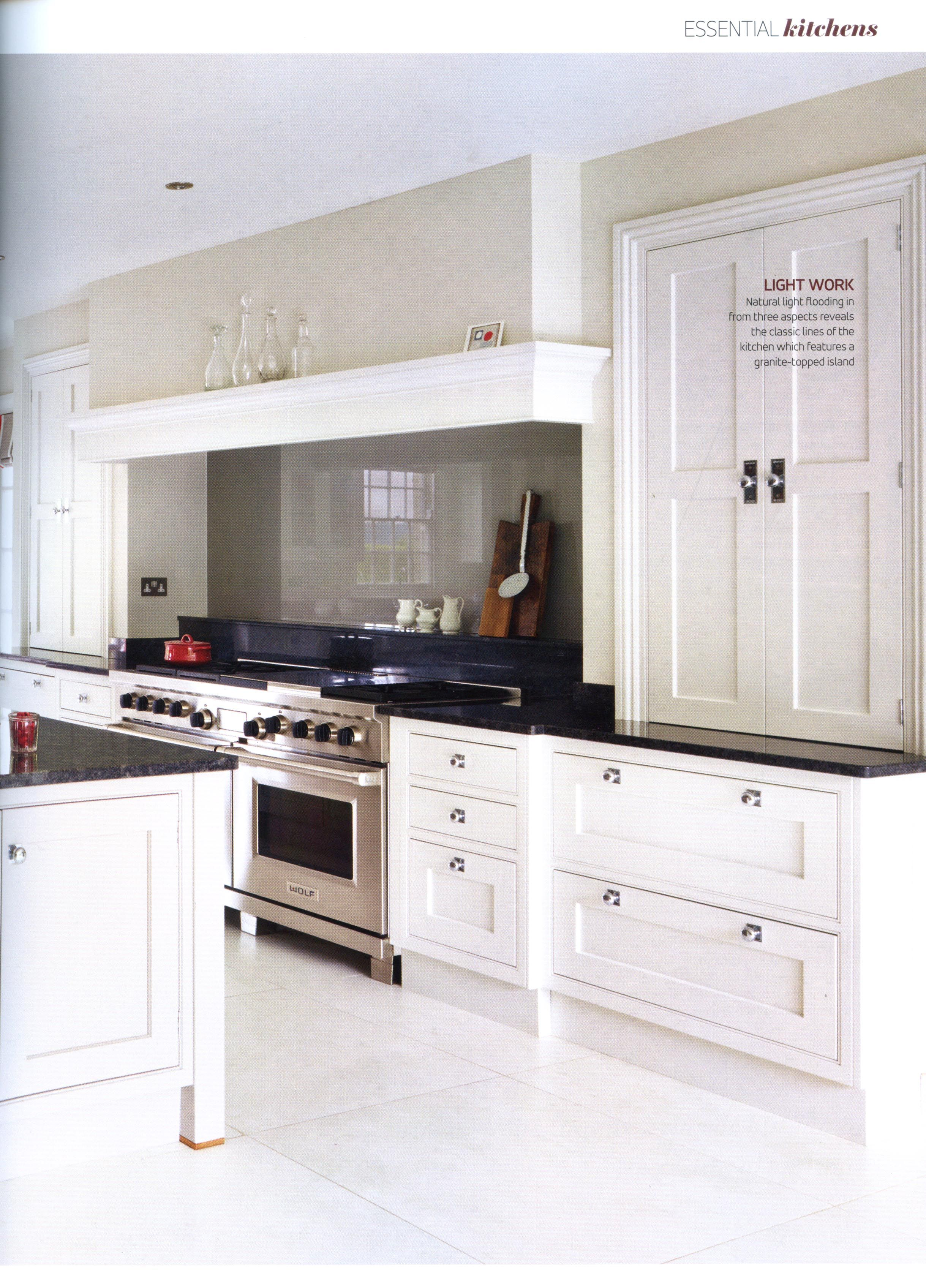 Classic open plan Martin Moore kitchen case study martinmoore.com ...