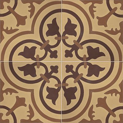 Tiles For Wall Decor Inspiration Cluny 888 A Is An In Stock 8X8 Deco Cement Tile From Echo Design Decoration