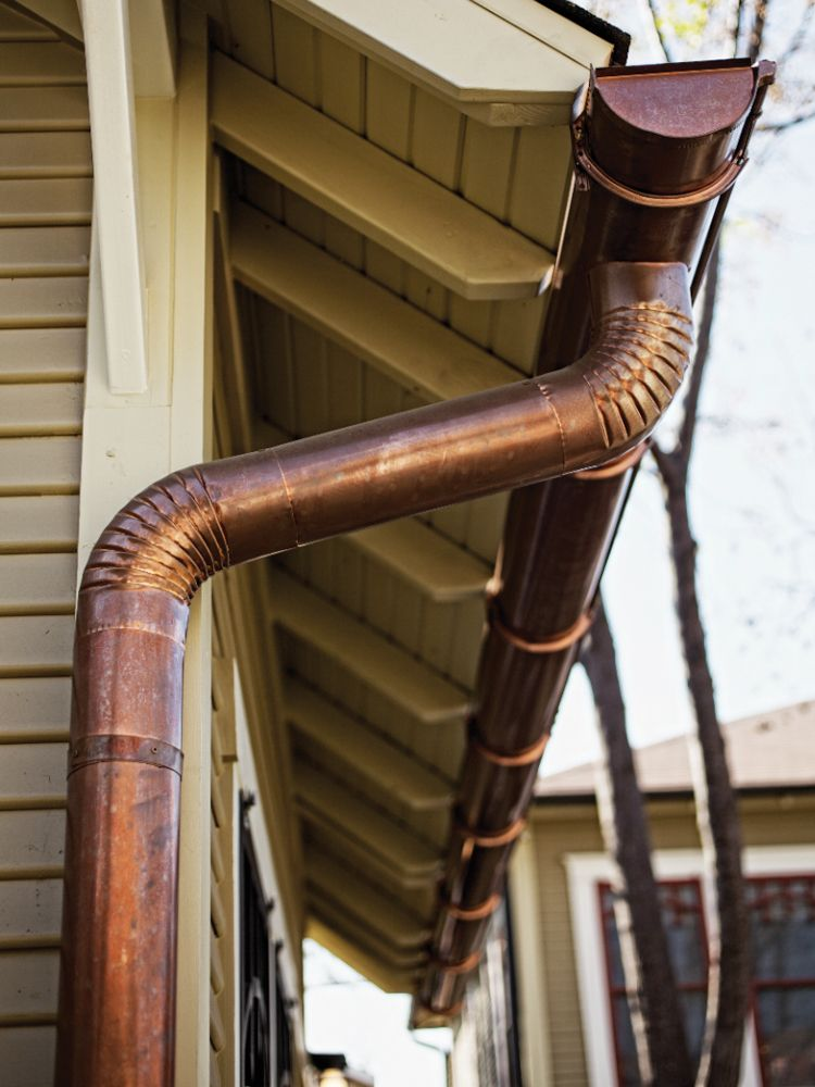 Bungalito By John Hindman Gutters House Design Copper Gutters