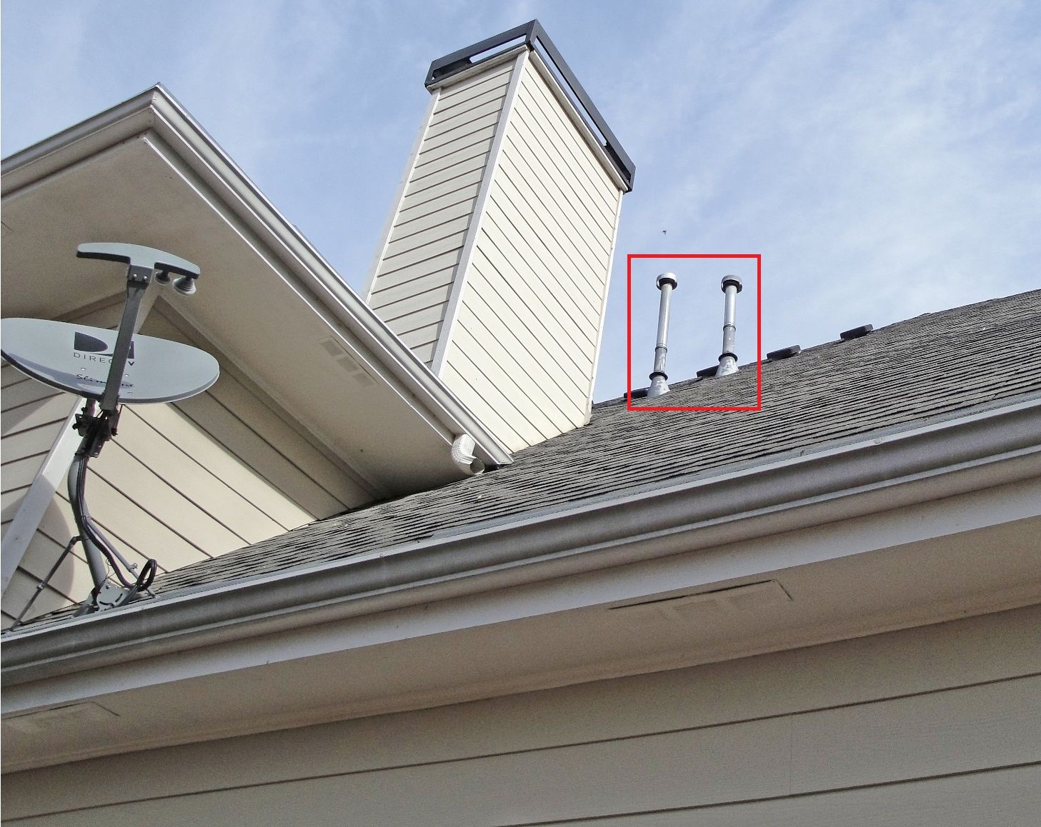 How To Fix A Leaky Gas Flue Roof Vent Part 1 Roof Vents Roof Vented
