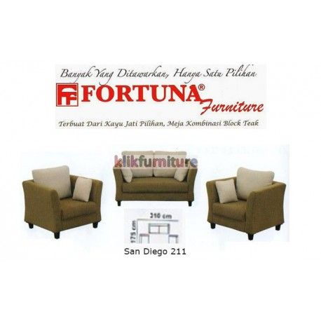 Harga Sofa San Diego Fortuna Condition New Product Terdiri