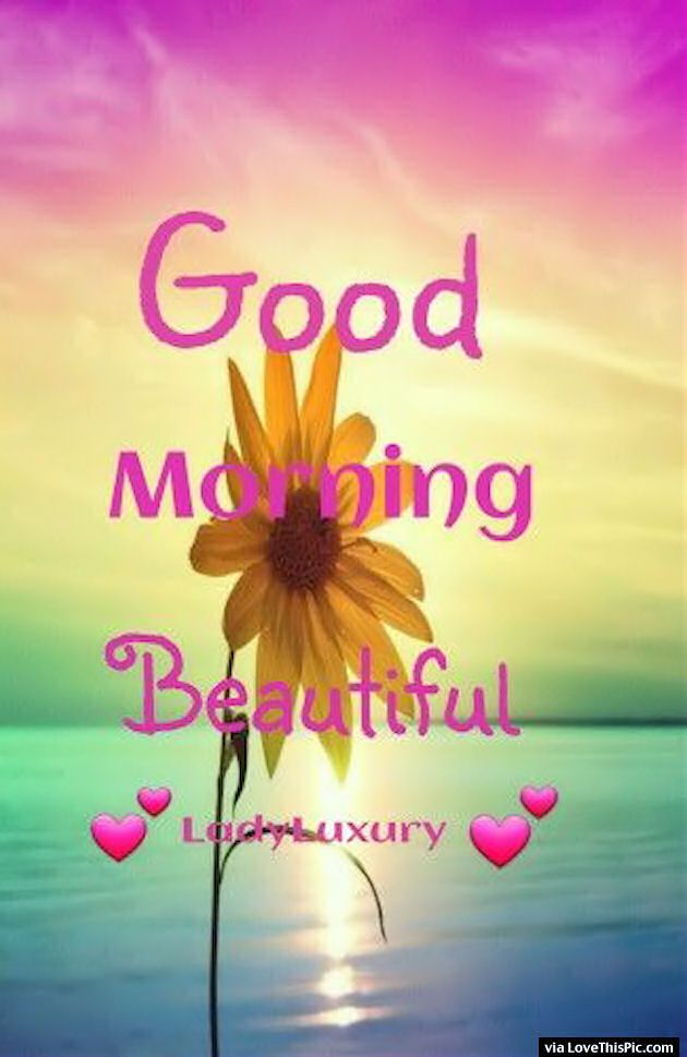 Good Morning Beautiful Quote Good Morning Beautiful Quotes Good Morning Beautiful Good Morning Beautiful Images