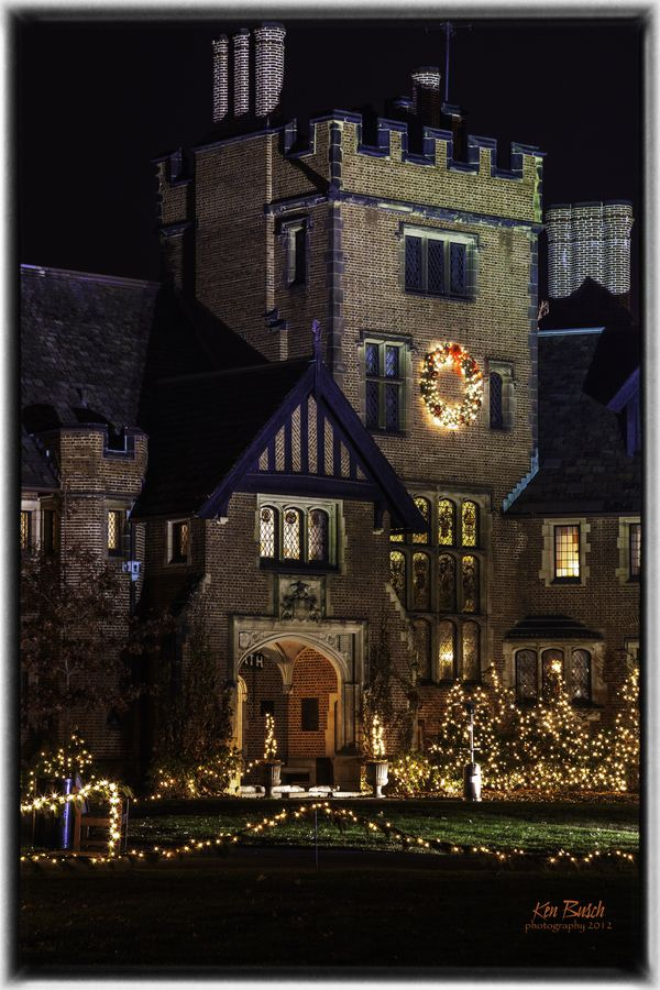 Stan Hywet Hall Christmas In England American Castles Akron Ohio