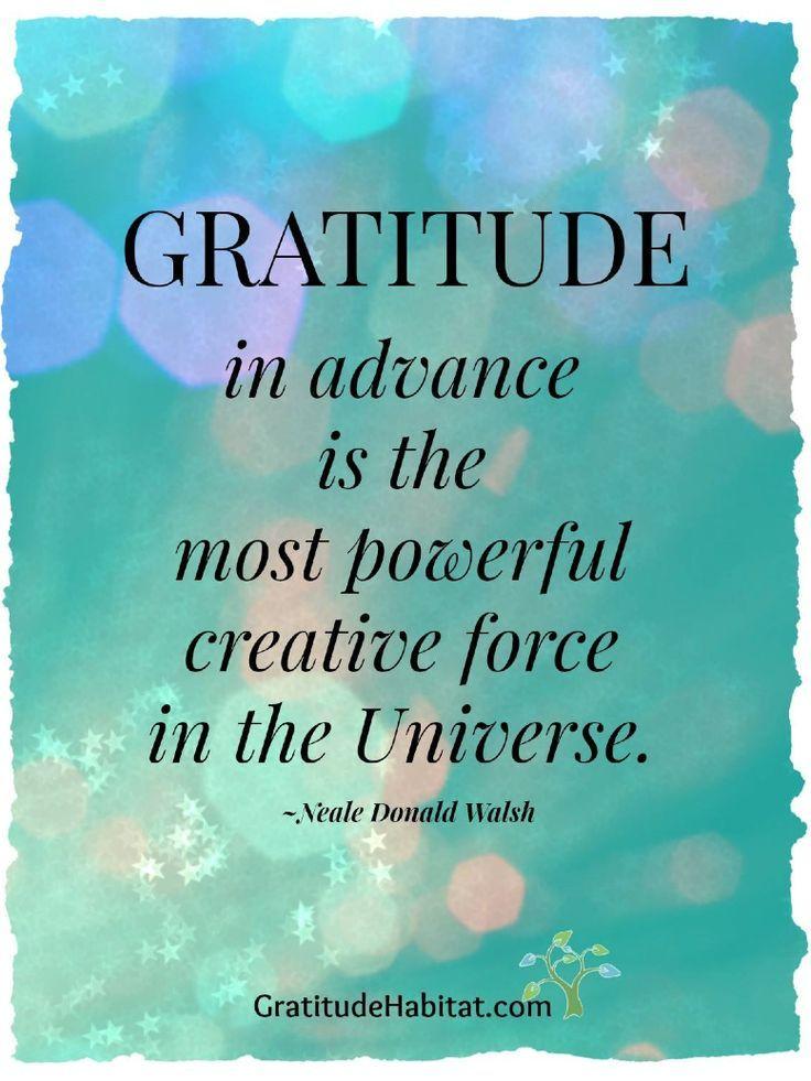 Living In Gratitude: Power Of Gratitude