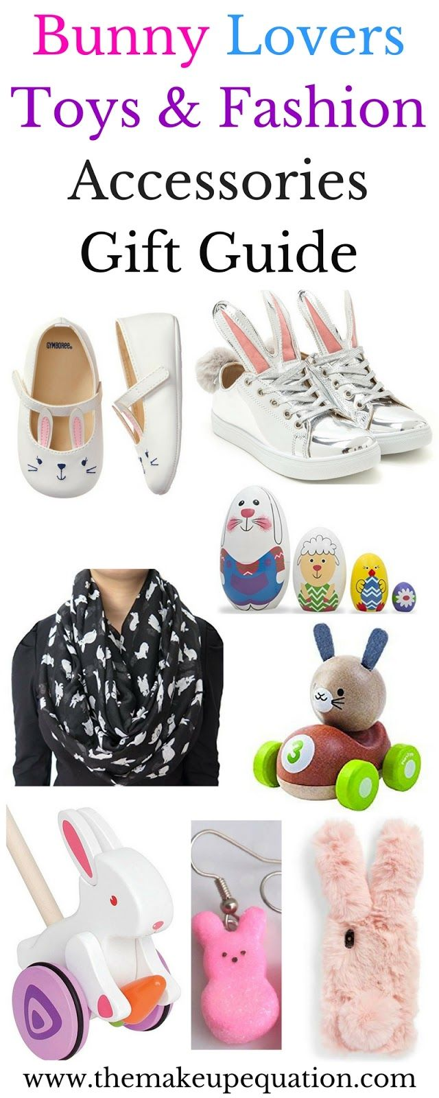 Bunny toys and fashion accessories easter gift guide bunny toys a list of bunny toys and bunny fashion accessories and gifts for bunny lovers big and small these make great easter gift baby shower gifts and birthday negle Gallery